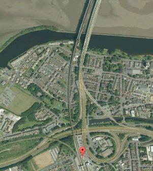 Runcorn Station And The Bridges