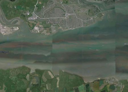 The Thames South Of Canvey Island