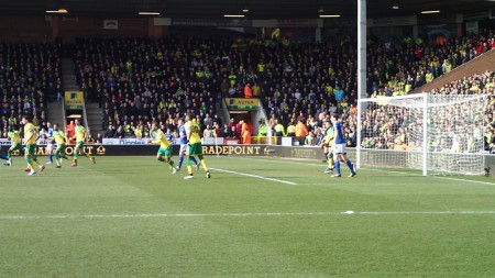 Match Thirty-Four - Norwich 2 - Ipswich 0