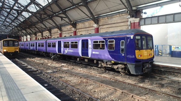 A Class 319 At Lime Street