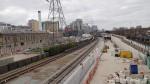 The Victoria Dock Crossrail Portal
