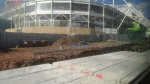 Work At Coventry Arena Station