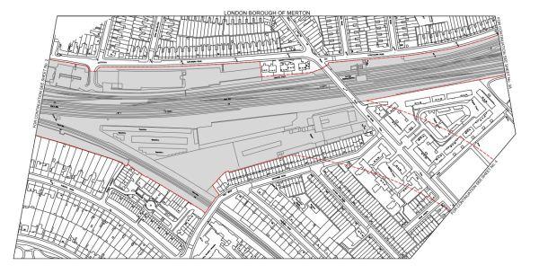 Crossrail 2 Wimbledon Poral Area