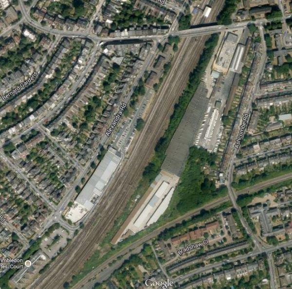 Crossrail 2 Wimbledon Area Now