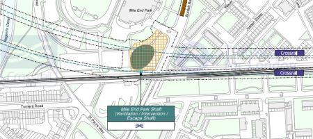 Mile End Park Ventilation Shaft