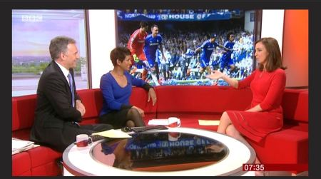 Colours On The BBC Breakfast Sofa