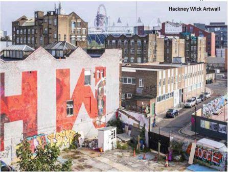 Hackney Wick Artwall