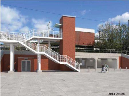 Hackney Wick Station South Elevstion