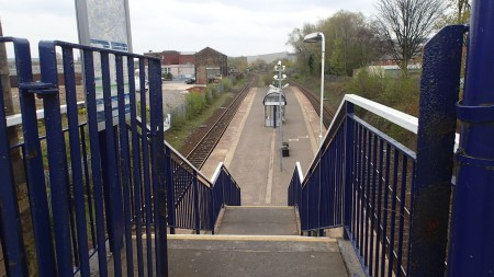 Disabled-Friendly Steps At Mill Hill