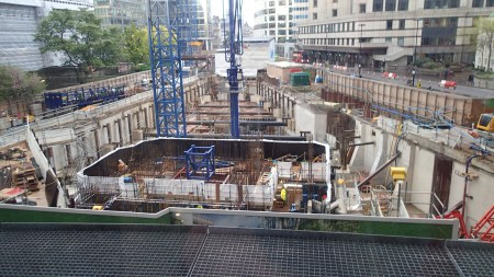 Crossrail's Big Hole In The Barbican