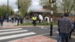 Police Horses Out In Force