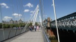 The Golden Jubilee Bridges In The Sun