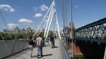 The Golden Jubilee Bridges In The Sun