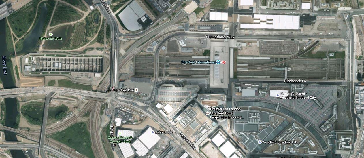 Stratford International Station High Meads Loop