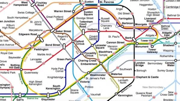 Amateur Tube Map