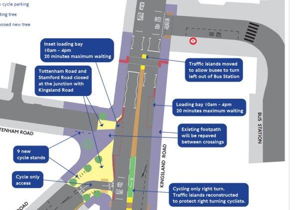 Proposed Kingsland Road Stamford Road Junction