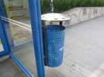 A Bin With A Roof