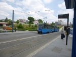 Waiting For A Tram At Rondo Mogilskie