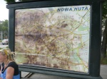 Map In Nowa Huta With Seat
