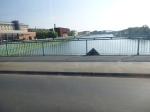 Crossing The River Vistula On A Tram