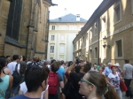 Queuing For St. Vitus Cathedral