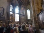 Queuing Inside St. Vitus Cathedral