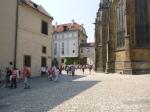 Crowds In Prague Castle