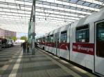 Braunschweig Tram At The Station