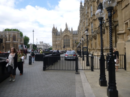 In Front Of The Palace Of Westminster