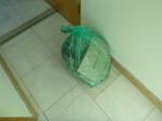 A Green Bag Full OfPackaging