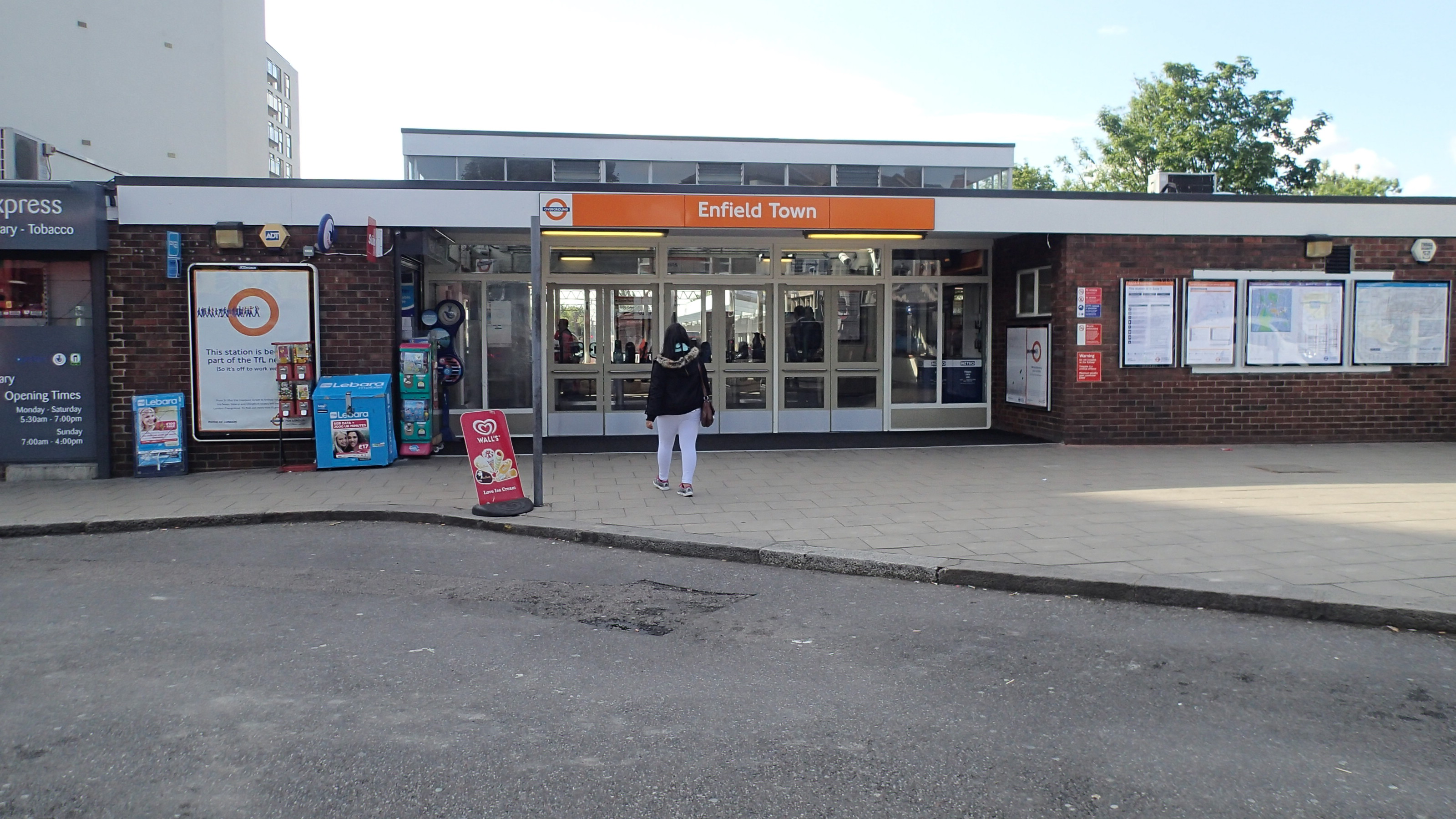 Enfield Town Overground Enfield Town is Almost Ready