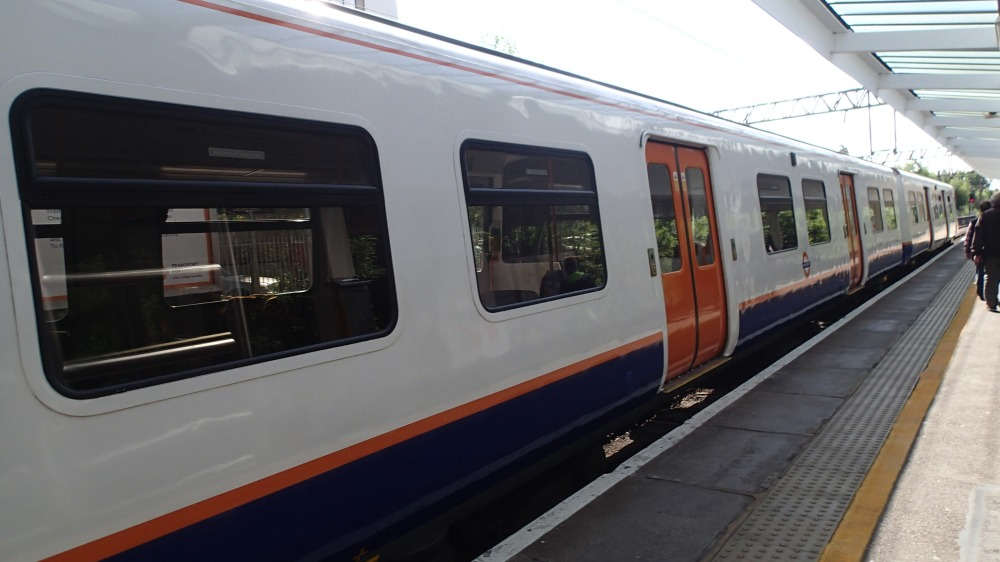 Enfield Town Overground at Enfield Town Station