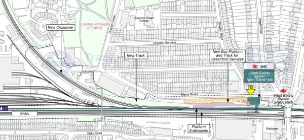 West Ealing New Layout