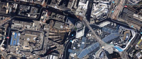 Birmingham New Street And Moor Street Stations