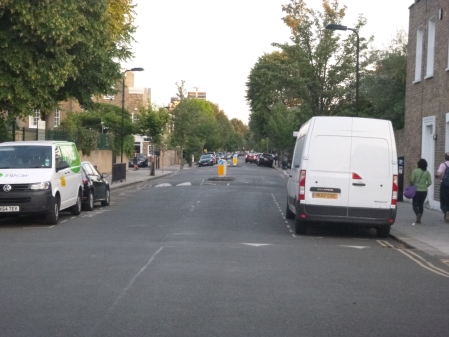 A Tree-Lined Section Of Cycle Superhighway Route 1