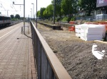 Bay Platform Construction At West Ealing Station - 4th July 2015