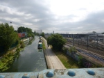 Looking Down On The Grand Union Canal