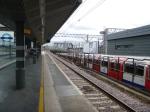 An Eastbound Central Line Train Arrives