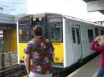 The Class 315 Train Arrives