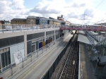 Westbound Platform And Track At Custom House Station - 29th July 2015