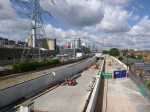 Westbound Tunnel Portal At Custom House Station - 29th July 2015