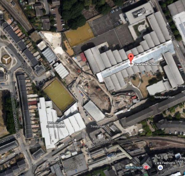 Swanlea School And Whitechapel Station