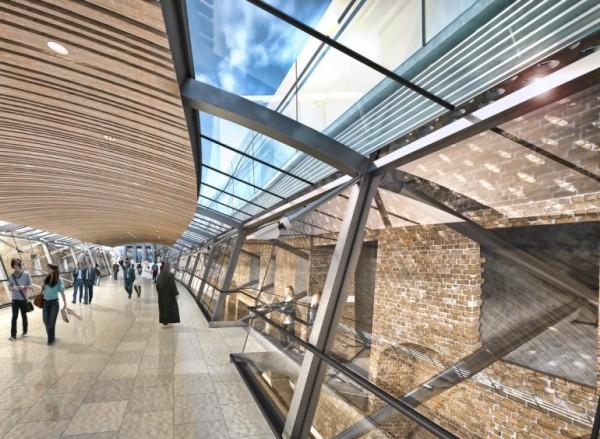 Whitechapel Station Walkway