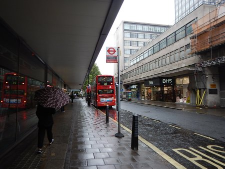 The 25 Bus At John Lewis