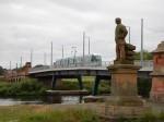 A Tram On Wilford Bridge