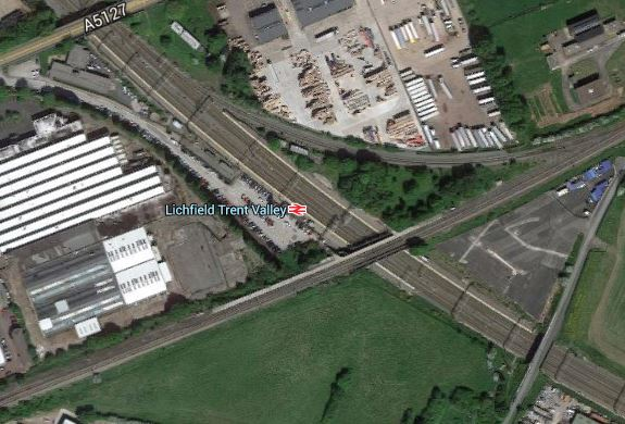Lichfield Trent Valley Station