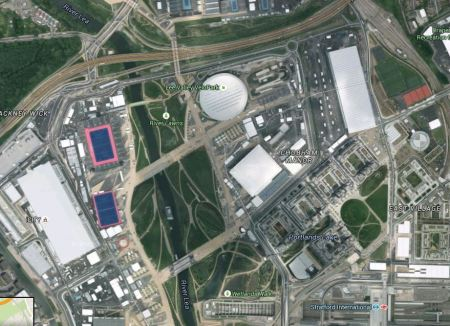 Olympic Park And Stratford International Station
