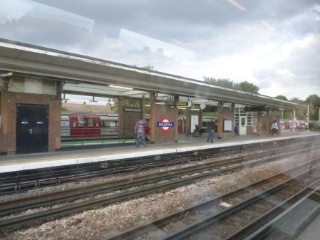 Dollis Hill Station From A Marylebone-Bound Train