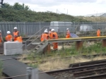 Crossrail Works Between Plumstead And Abbey Wood Stations