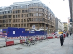 Crossrail Works In Front Of Liverpool Street Station